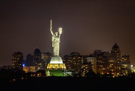 Красота вечернего Киева