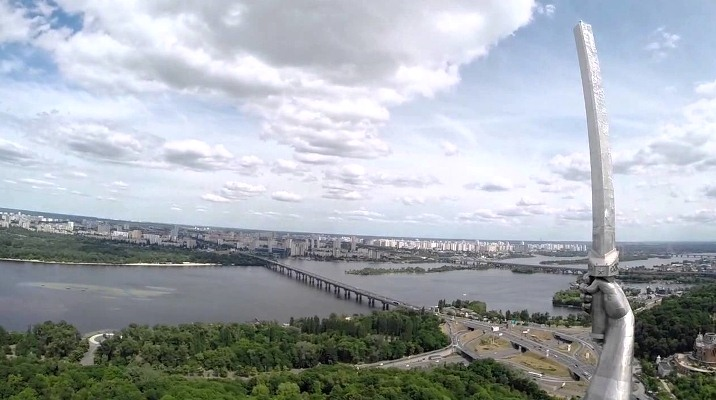 Панорамные площадки Киева