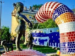 Мозаичная площадка в Киеве