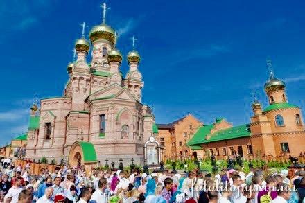 Покровский монастырь в Голосеево